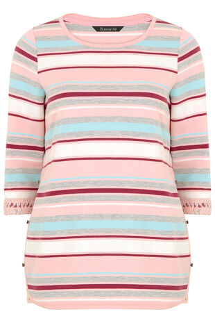 Stripe Snit Tunic