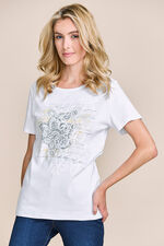 Placement Cornelli Scoop T-Shirt
