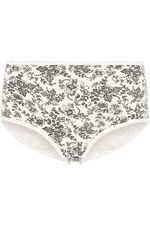 Five Pack Lace Print Briefs