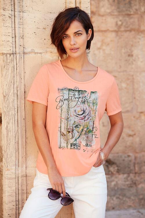 Bon Voyage Print T-Shirt