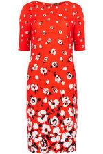 Floral Print Tunic Dress