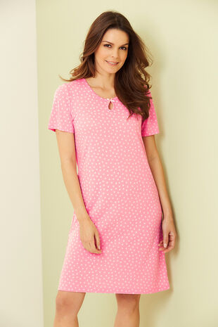 Circle Spot Nightshirt