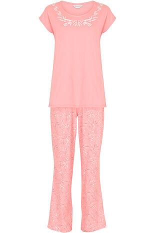 Sprig Print Pyjamas