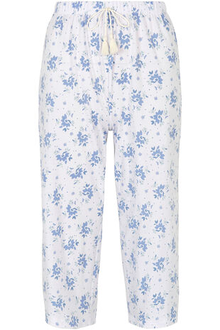 Floral Cropped Pyjama Trouser