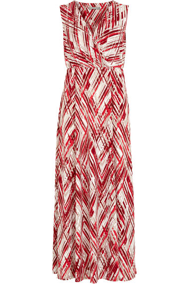 Ann Harvey Brushstrokes Printed Maxi Dress
