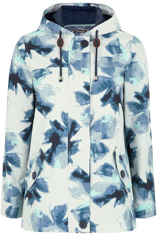 Floral Waterproof Coat