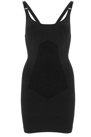 Black Shapewear Control Slip