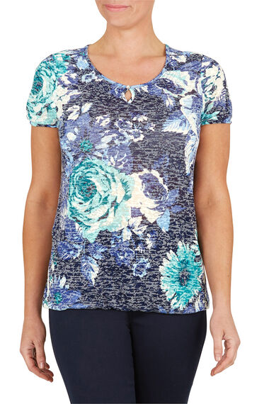 Waterlily Burnout T-Shirt