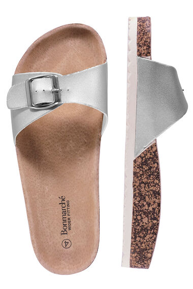 Single Strap Footbed Sandals