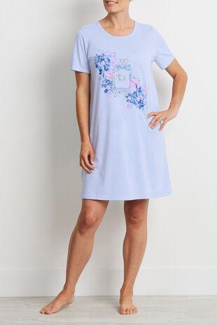 Blue Marl Perfume Bottle Nightshirt