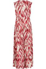 Ann Harvey Brushstrokes Printed Maxi Dress