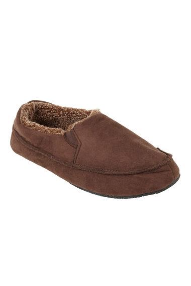 Suedette Slip On Slippers