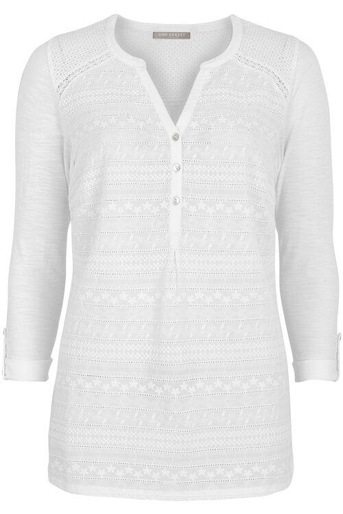 Ann Harvey Embroidered Shirt