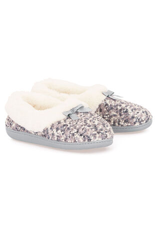 Textured Full Slipper