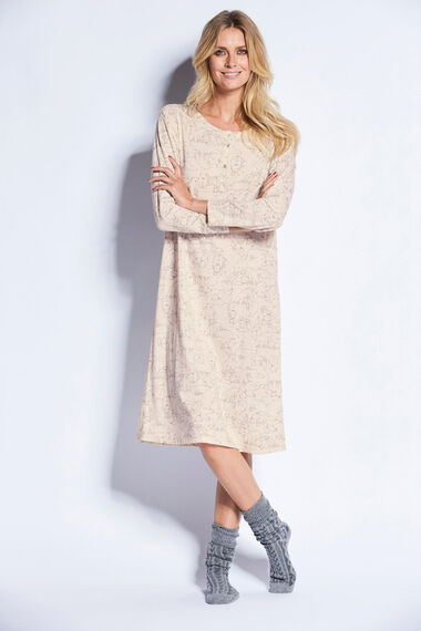 Polar Bear Long Sleeve Nightdress