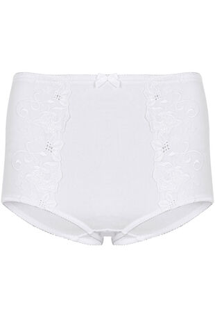 Embroidered Medium Control Briefs