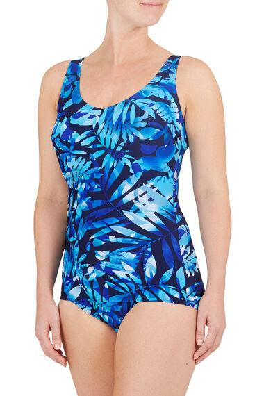Palm Print Swimsuit