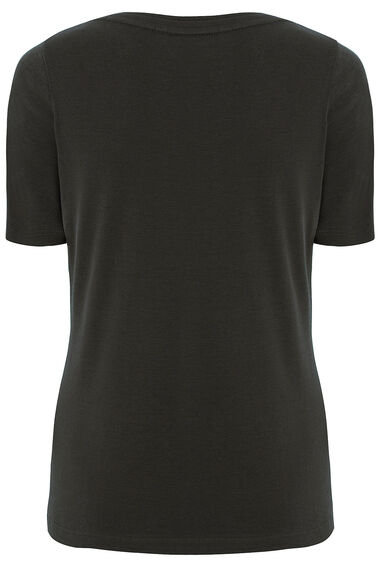 Scoop Neck Half Sleeve T-Shirt