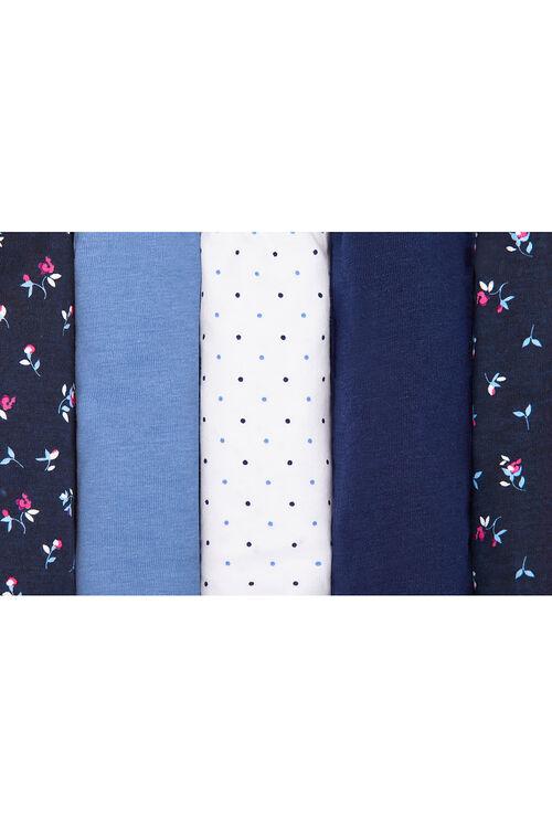 5 Pack Rosebud Briefs
