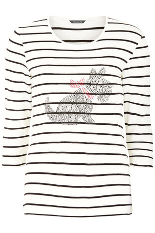 Scotty Dog Stripe T-Shirt