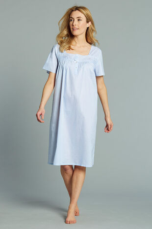 Textured Dot Nightdress