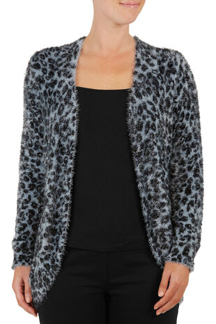 Animal Eyelash Cardigan