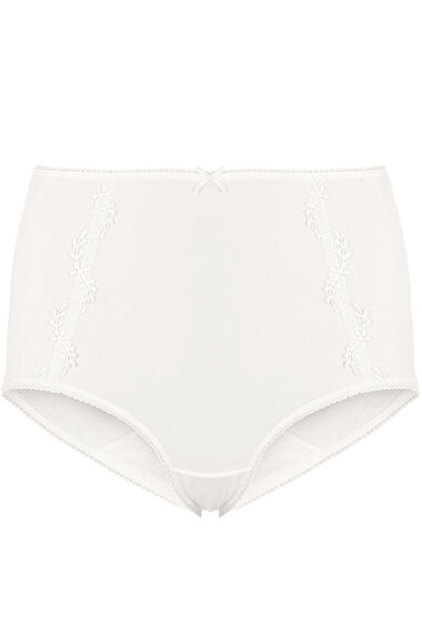 Guipure Lace Trim Full Brief