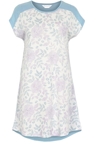 Floral Front Nightdress