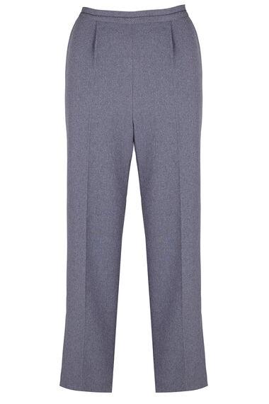 Stitch Detail Classic Leg Trousers