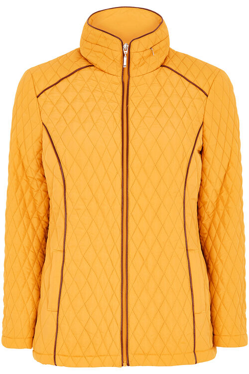 Short Quilted Coat