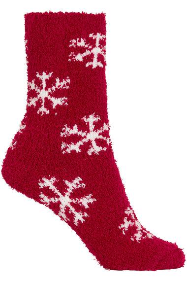 2 Pack Snowflake Cosy Socks