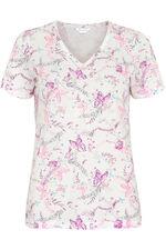 Butterfly V-Neck Pyjama Top