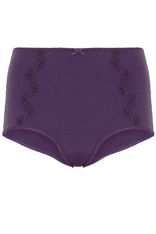 Guipure Lace Trim Brief