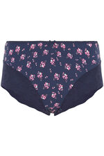 Ditsy Floral Printed Lace Brief