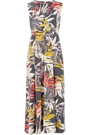 Ann Harvey Palms Print Maxi Dress