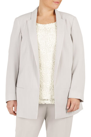 Ann Harvey Edge To Edge Crepe Jacket