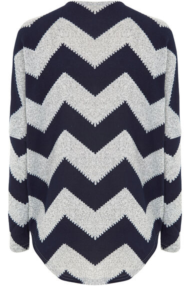 Stella Morgan Zig Zag Print Soft Touch Sweater