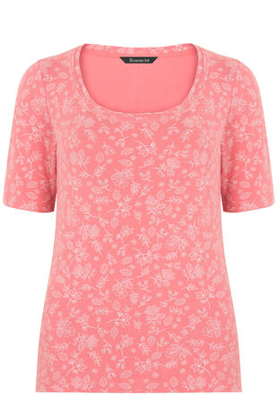 Pure Cotton Half Sleeve Printed T-Shirt