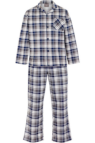 Checked Traditional Pj Set