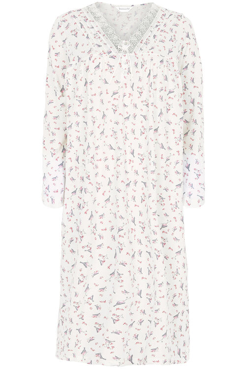 Bird Print Nightdress