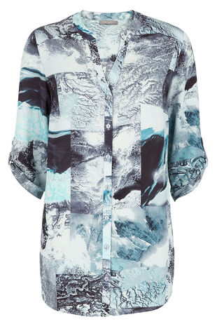 Ann Harvey Longline Print Blouse