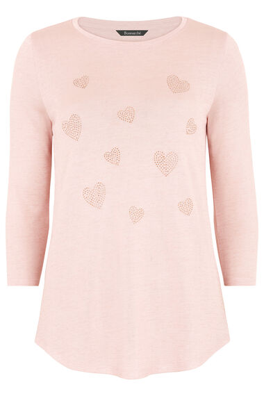 Heart Diamante Sweater