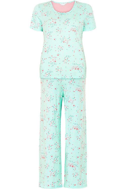 Ditsy Floral Print Gift Wrapped Pyjama Set