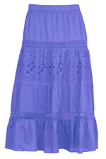 Broderie Anglais Tiered Skirt