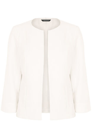 Short Crepe Jacket