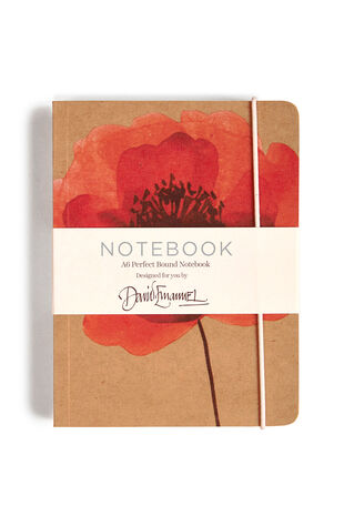 A6 Poppy Notebook