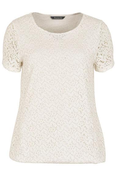 Lace Front T-Shirt