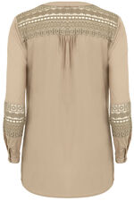 Ann Harvey Lace Trim Blouse
