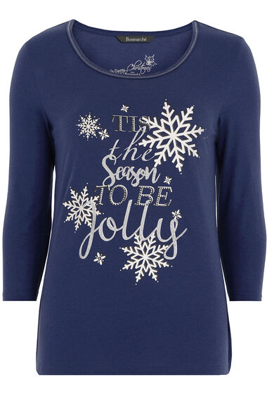 Tis The Season Placement T-Shirt
