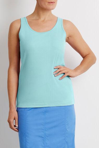 Basic Cotton Strappy Vest